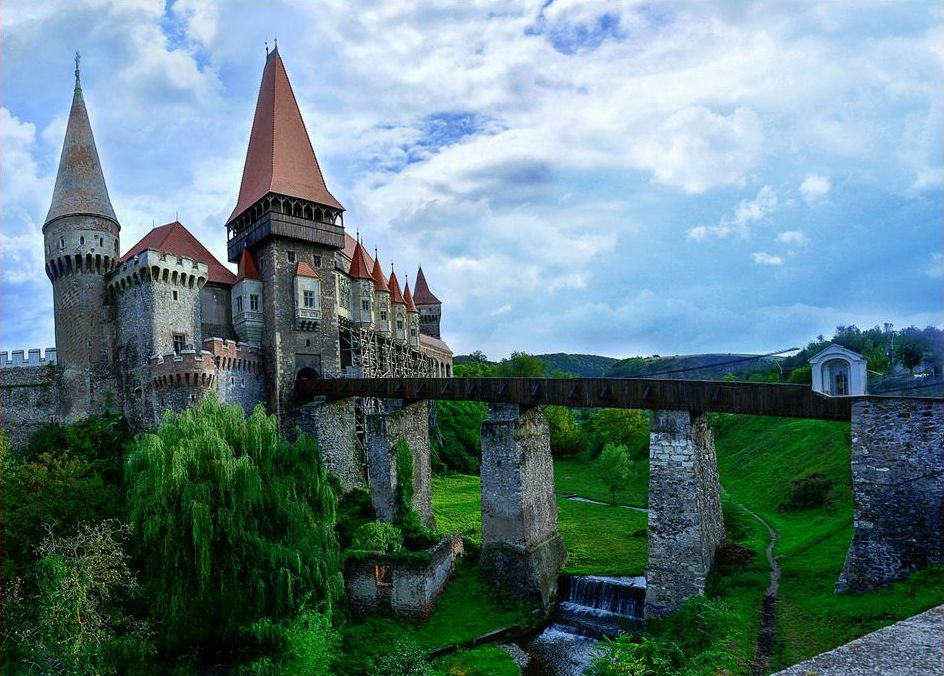 Romanian Castle on European Holiday
