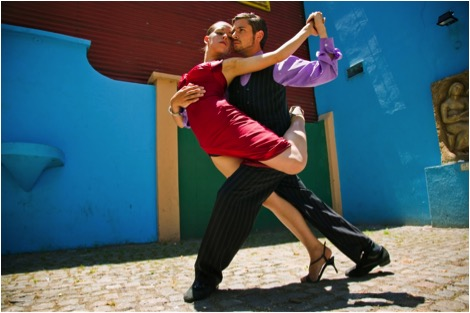 Latin Dancing in Argentina, South America