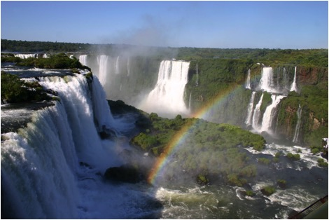 waterfalls in South America