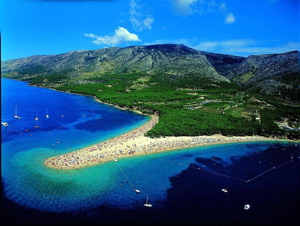 Zlatni Rat Beach in Croatia