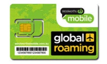 Woolworths Global Travel Sim Card
