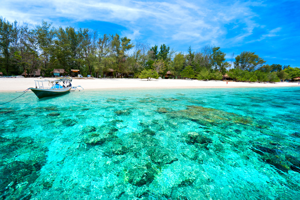 asian beach holiday, Gili Islands Travel
