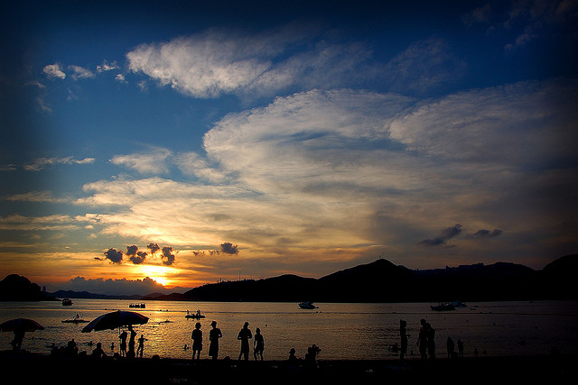 Best Beaches In Asia without the Crowds, southbay sunset, Hong Kong