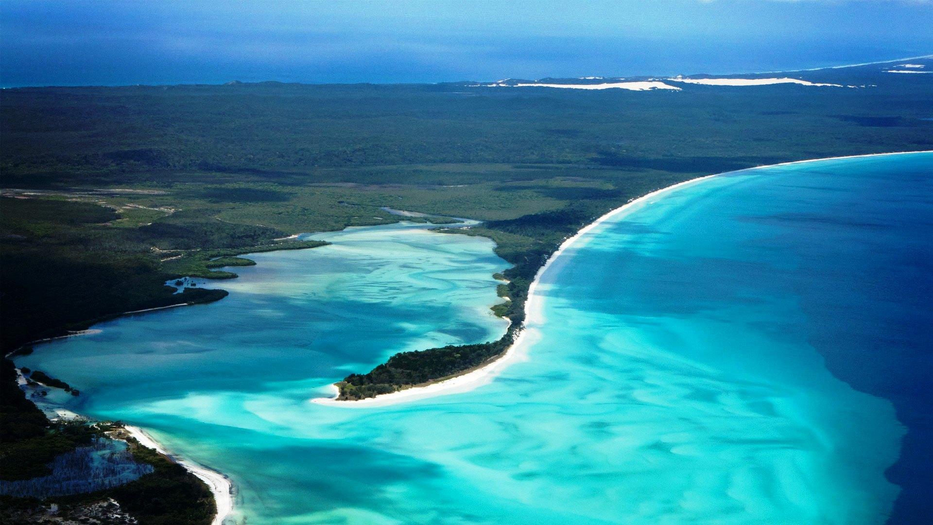 must see Australian beaches, Fraser Island